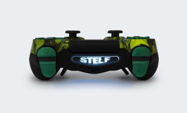 Controle Playstation Dualshock 4 Personalizado com Grip, Padles e Trigger Shot (Foto topo)