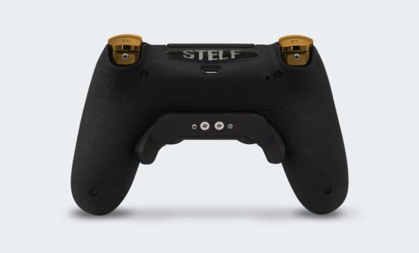 Controle Playstation Dualshock 4 Personalizado com Grip, Padles e Trigger Shot (foto traseira)