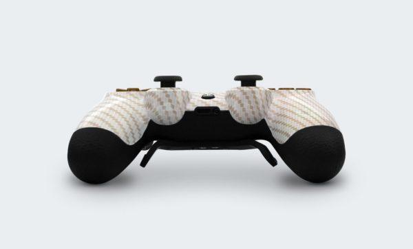 Controle Playstation Dualshock 4 Personalizado com Grip, Padles e Trigger Shot (Foto inferior)